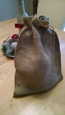 """10 Burlap Bags with Drawstring Large 9x12"""" Party Favors Wedding Gift Birthday!"""