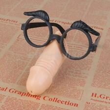 Sex Toys Male Penis Nose With Eye Glasses Hen Party Night Costume Supplies