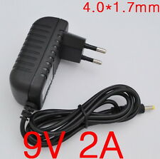 AC Converter Adapter DC 9V 2A Power Supply Charger EU plug 4.0mm x 1.7mm 2000mA