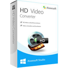 HD Video Converter WIN Aiseesoft dt.Vollversion -lebenslange Lizenz Download