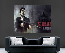 SCARFACE POSTER AL PACINO CLASSIC MOVIE WALL ART PRINT LARGE TONY MONTANA