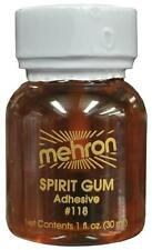 MEHRON 1 OZ SPIRIT GUM LIQUID ADHESIVE FOR PROSTHETICS COSTUME DD17