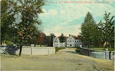 c1907 Postcard; Gateway to Reid Memorial Hospital Grounds, Richmond IN Unposted