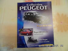 MAGAZINE COLLECTION PEUGEOT N°3 402 B 1939  J29