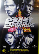 2 FAST 2 FURIOUS DVD PAUL WALKER FREE POST AUSTRALIA