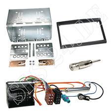 PEUGEOT 207 207cc 307 doppio 2 DIN Telaio di Montaggio Pannello Radio Cavo Iso Adattatore Set
