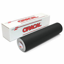 ORACAL 631 Adhesive Backed Matte Vinyl 12in x 10ft Roll - BLACK
