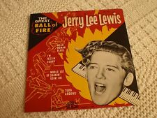 JERRY LEE LEWIS SUN 107 EP THE GREAT BALL OF FIRE SLEEVE ONLY NO RECORD