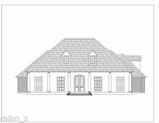 CAD DWG, and PDF files for Custom Home House Plan 2,714 SF Blueprint Plans