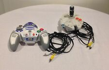 """STAR WARS R2D2 And SHIP PLUG AND PLAY TV GAME""JAKKS PACIFIC LOT Of 2"