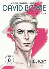 DAVID BOWIE New Sealed 2017 THE STORY BIOGRAPHY & MORE DVD
