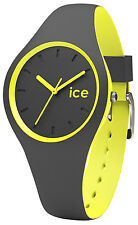 ICE-WATCH Ice Duo Anthracite/Yellow Damen Uhr DUO.AYW.S.S.16 NEU & OVP
