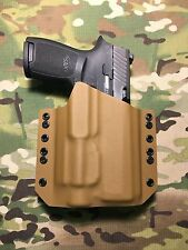 Coyote Tan Kydex Light Bearing Holster SIG P250 Full Size Streamlight TLR-2s