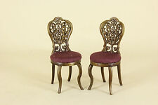 Dollhouse Miniature ORNATE BACK CHAIR buy 1 get 1 free 6404-NWN  BESPAQ DIRECT