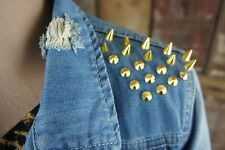 Blue Rags DENIM * Jeansjacke * Destroyed * Nieten * Rock Punk Edgy * Gr 38/40