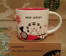 Starbucks Coffee Mug/tasse/Gobelet New Jersey you are here, nouveau M. sticker I. BOX!!!