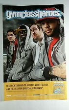 GYM CLASS HEROES AS CRUEL AS SCHOOL CHILDREN PHOTO BAND 11x17 MUSIC POSTER