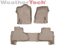WeatherTech® FloorLiner for Chevrolet Tahoe w/ 2nd Row - 2015-2016 - Tan