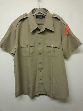Tact Squad Police/CHP Uniform Short Sleeve Shirt Size: Small 2XL 18 1/2 (A2267)