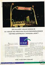 Publicité advertising 1992 Assurances CNP Caisse Nationale de Prévoyance