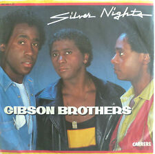 """7"""" 1983 RARE IN MINT- ! GIBSON BROTHERS : Silver Nights"""