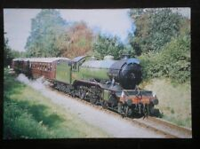 POSTCARD LNER 2-6-0 K4 CLASS LOCO NO 3442 'THE GREAT MARQUESS' ON THE SEVERN VAL