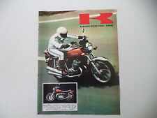 advertising Pubblicità 1973 MOTO KAWASAKI 900 Z1 SUPER 4