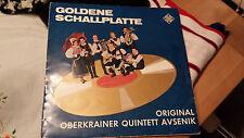 ORIGINAL OBERKRAINER QUINTETT AVSENIK - Goldene Schallplatte RARE TELEFUNKEN LP