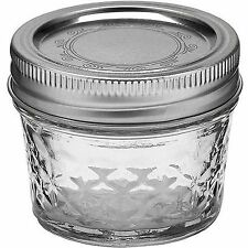Ball 12-Count 4-Ounce Jelly Jars with Lids and Bands..Brand New!..Free Shipping!