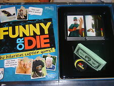 2013 Hasbro Family Party Game ~ Funny or Die ~ Match Captions & Photos