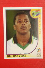 PANINI KOREA JAPAN 2002 # 165 SOUTH AFRICA ZUMA WITH BLACK BACK MINT!!!