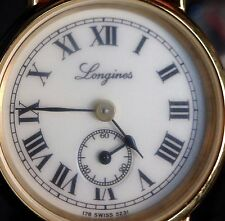 "LONGINES 18K gold plated Ladies Quartz L178.2 11 Jewels ""New Old Stock"" Watch!"