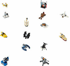 LEGO Star Wars - Selection of Micro Vehicles (Advent Calendar 2015)