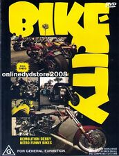 Motor BIKE CITY (Harley DAVIDSON) Drag Bikes Custom Choppers Show DVD NEW SEALED