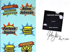 Adam Johnson~SIGNED & DATED~Fortune Smiles~1st/1st + Photos! Pulitzer Winner