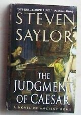 Steven Saylor - THE JUDGMENT OF CAESAR (St. Martin's, 2005) libro in Inglese