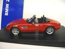 1:18 Autoart bmw z8 rojo red nuevo New