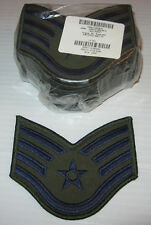 Lot 20 (10 pairs) Brand New! ~ US AIR FORCE SSGT LG Patches patch FREE SHIPPING!