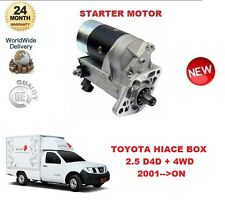 FOR TOYOTA HILUX BOX 2.5 D4D + 4WD 2001-- ON DENSO ORIGINAL STARTER MOTOR OE