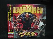 FIVE FINGER DEATH PUNCH Got Your Six + 3 JAPAN CD U.P.O Motograter Ghost Machine