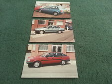 1986 SILVER KNIGHT UK TOYOTA STARLET COROLLA CARINA BODY STRIPING - NOT BROCHURE