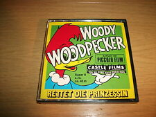 Woody Woodpecker -Rettet die Prinzessin- Piccolo Super 8 Film SW / Stumm ca. 45m