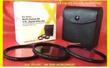 FILTER KIT 72mm UV+CPL+FLD Circular Polarized,Ultraviolet,Daylight: FUJI FINEPIX