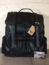 New Dr Martens Big Slouch Black Leather Large Backpack Vintage ASOS Rucksack