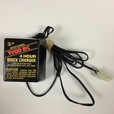 Tyco R/C 4 Hour Quick Charger 9 6V NiCd Battery Charger #2997 2998