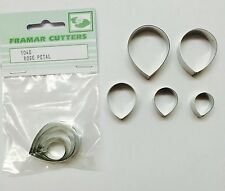 Cake Decorating Metal 104S Rose Petal by Framar Cutters
