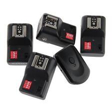 16CH Wireless Remote FM Radio Flash Speedlite Flash Trigger w/ 4 PC Receivers