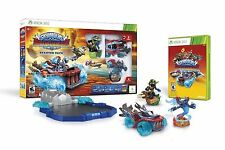 SKYLANDERS SUPERCHARGERS STARTER PACK Xbox 360 Land Sea Air Video Game Poster+