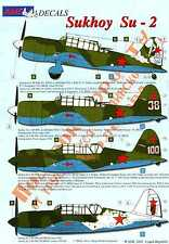 AML Models Decals 1/48 SUKHOI Su-2 Russian WWII Bomber