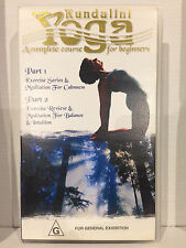 KUNDALINI YOGA ~ A COMPLETE COURSE FOR BEGINNERS ~ VOLUME 6 ~ VHS VIDEO